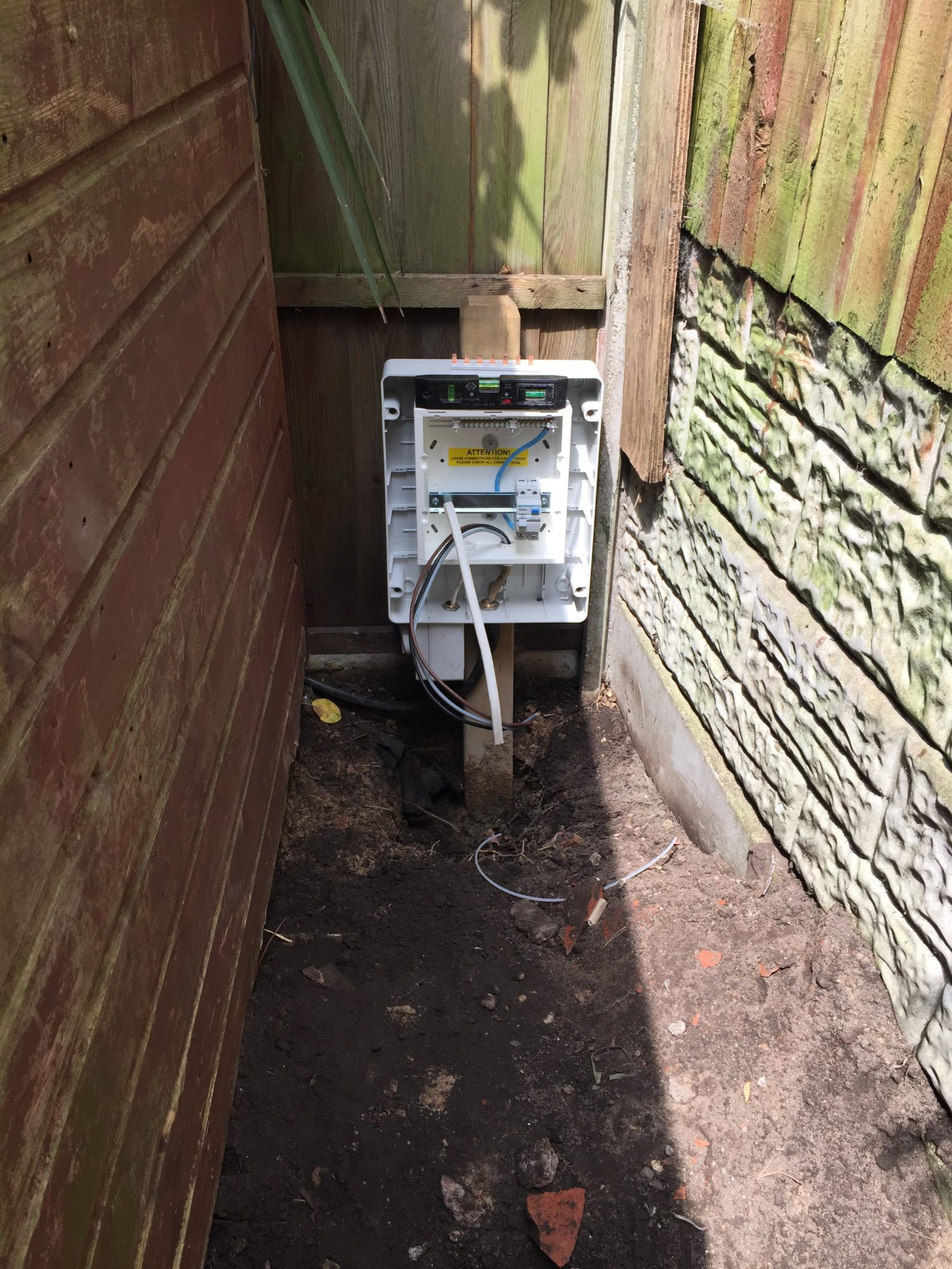 Installing Hot Tubs And Jacuzzis Case Young Local Electricians Tub Wiring Regulations Uk Here Are 2 Installations We Carried Out In Runcorn This Week